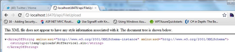 Brian Keating NET | Uploading a file in MVC4 C#5  NET 4 5